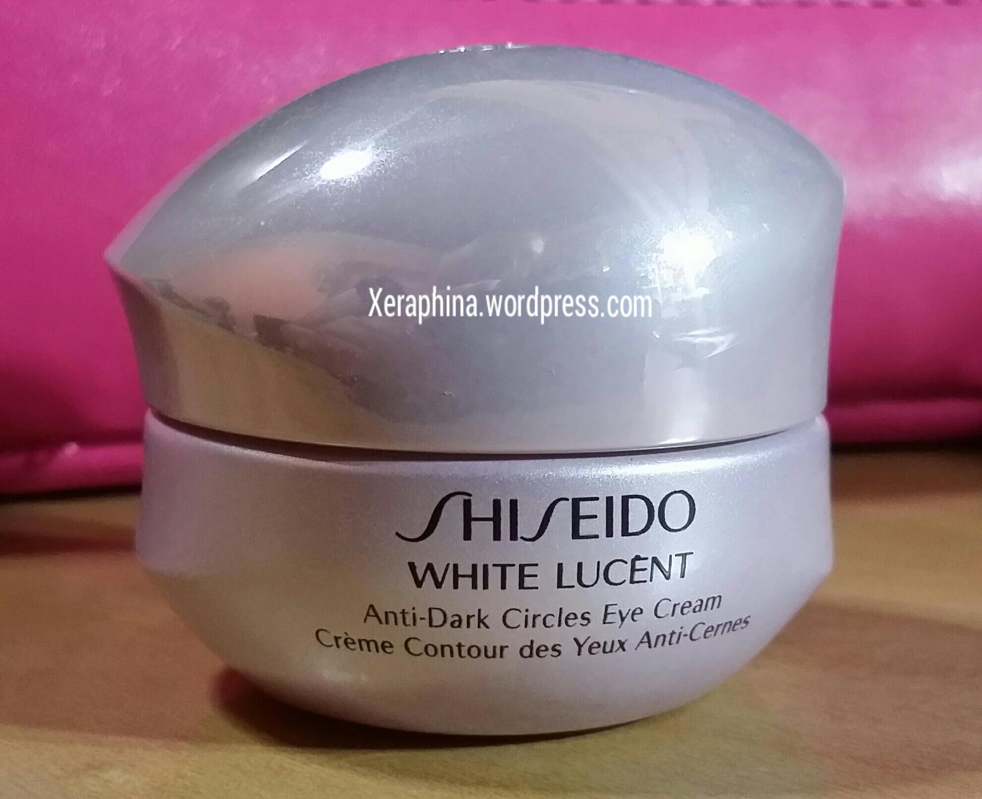 Shiseido White Lucent Anti-dark Circles Eye Cream and ...
